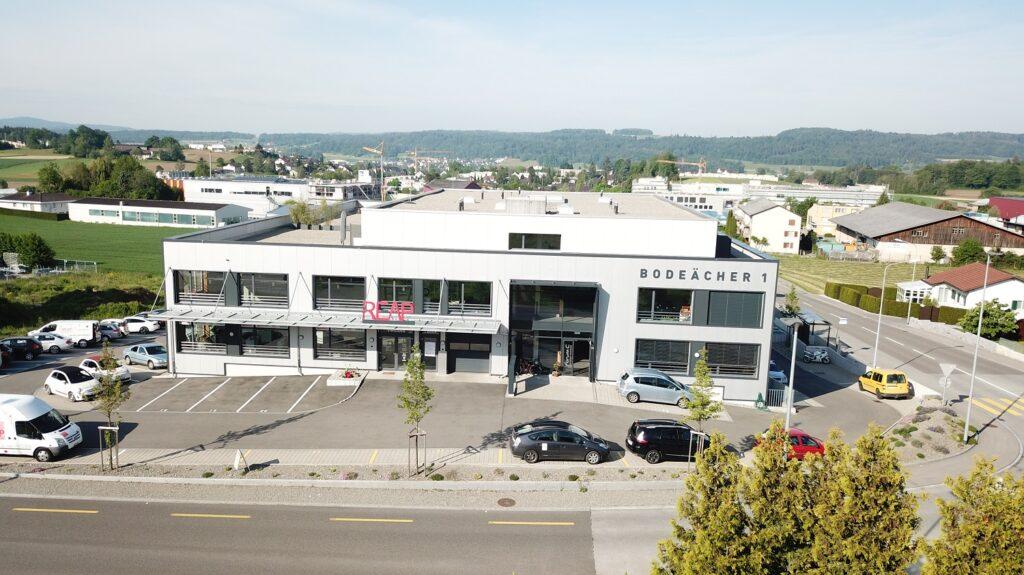 Neuer REAP Hauptsitz in Remetschwil