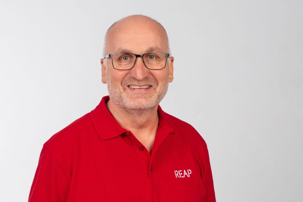 Urs Leuenberger Leiter Verkauf Aussendienst REAP AG Haushaltapparate